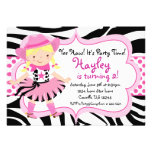 Hot Pink and Zebra Print Cowgirl Birthday Party
