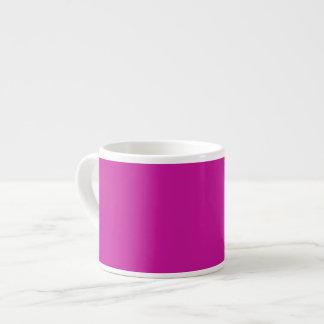 Hot Pink Background on a Mug 6 Oz Ceramic Espresso Cup