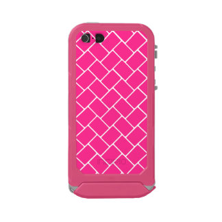 Hot Pink Basket Weave Incipio ATLAS ID™ iPhone 5 Case