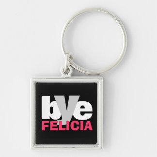 Hot Pink Bye Felicia Key Ring
