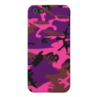 Hot Pink Camo iPhone 5/5S Case