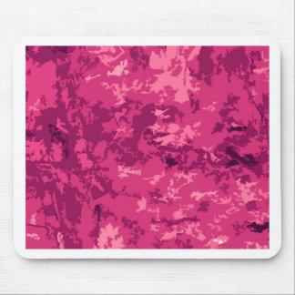 Hot Pink Camo Unique Camouflage Design Pattern Mousepads