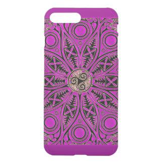 Hot Pink Celtic Triskele Mandala iPhone 7 Plus Case