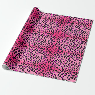 Hot Pink Cheetah Wrapping Paper