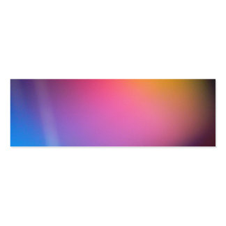 Hot Pink Cloud Bookmark Pack Of Skinny Business Cards