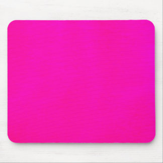 Hot Pink Color Mousepad Bright Bold Fun Colorblock