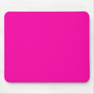 Hot Pink Color Only Custom Design Mousepads