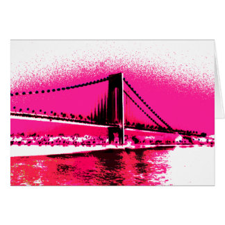 Hot Pink Crossing card
