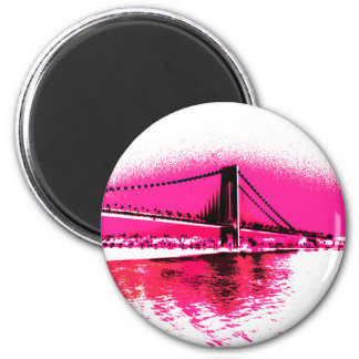 Hot Pink Crossing magnet