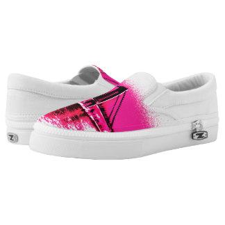 Hot Pink Crossing Z slipons Slip-On Shoes