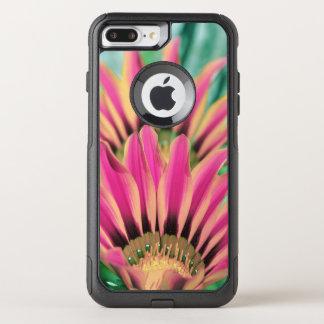 Hot Pink Daisy OtterBox Commuter iPhone 8 Plus/7 Plus Case