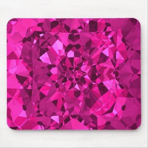 Hot Pink Diamonds Mousepads