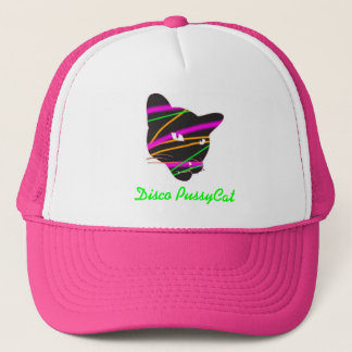 Hot Pink Disco PussyCat Hat
