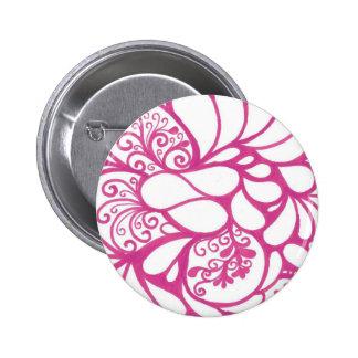 Hot Pink Doodle Button