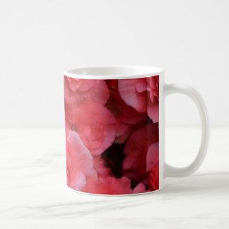 Hot Pink Double Begonia Coffee Mug