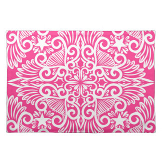 Hot pink Dream root Placemat