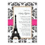 Hot Pink Eiffel Tower Parisian Bridal Shower