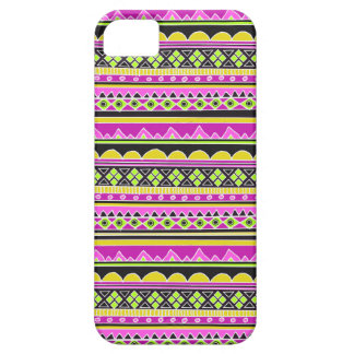 Hot Pink ethnic pattern iPhone 5 Case