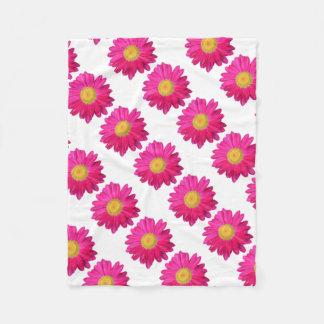 Hot+pink+fllower, floral, bloom, home+decor fleece blanket