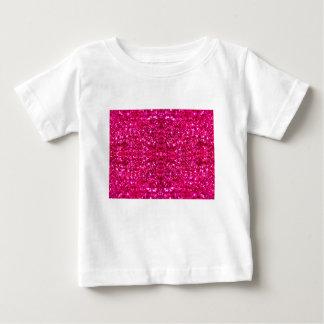 hot pink glitter baby T-Shirt