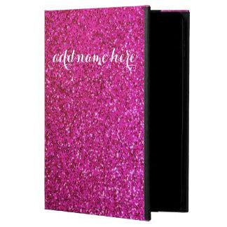 Hot pink glitter case