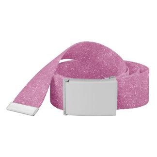 Hot Pink Glitter Sparkles Belt