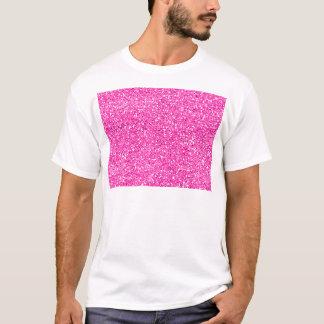 Hot Pink Glitter T-Shirt