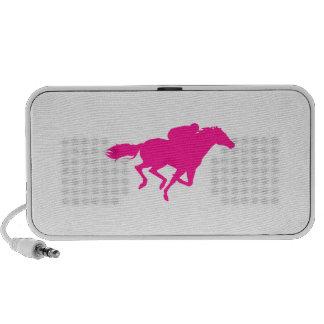 Hot Pink Horse Racing; Race Horse Speakers