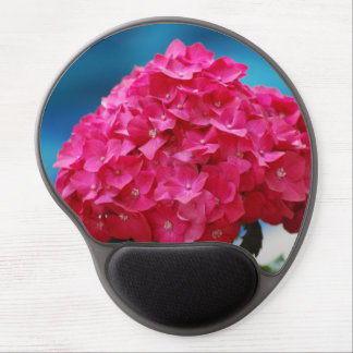 Hot Pink Hydrangea Gel Mouse Pads