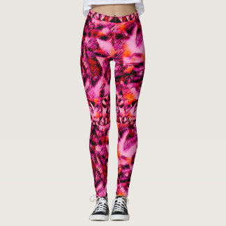 Hot Pink Kandi ~ Philtres Leggings