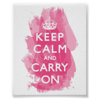 Keep Calm posters from Zazzle