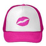 Hot Pink Kiss Cap