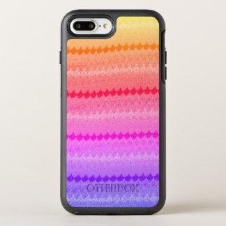 Hot Pink Knit Crochet Wool OtterBox Symmetry iPhone 8 Plus/7 Plus Case