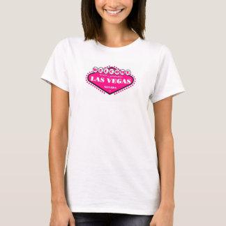 HOT PINK Las Vegas Sign Ladies  Top