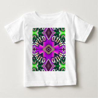 "Hot Pink Lavender ""Wild"" Card Funky Design Baby T-Shirt"