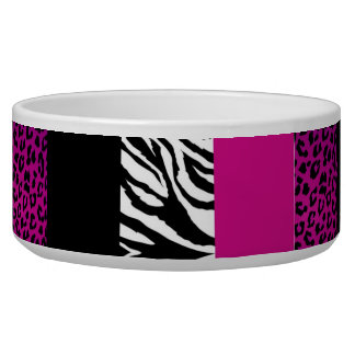 Hot Pink Leopard and Zebra Custom Animal Print