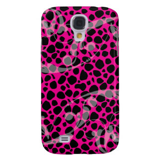 Hot Pink Leopard pern Samsung Galaxy S4 Case