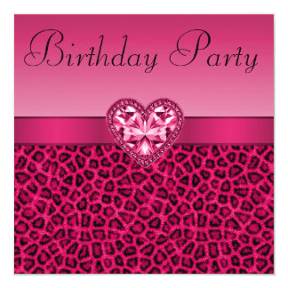 Teenage Girls Birthday Party Invitations & Announcements | Zazzle ...