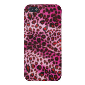 Hot Pink Leopard Print Iphone Case Case For iPhone 5/5S