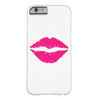 Hot Pink Lipstick Barely There iPhone 6 Case