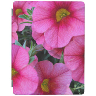 Hot Pink Million Bells iPad Cover