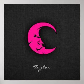 Hot Pink Moon Poster