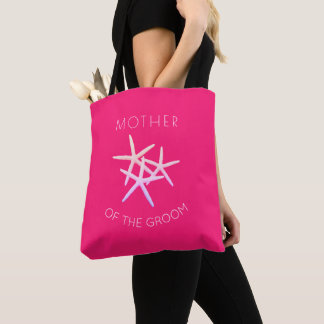 Hot Pink Mother of the Groom Starfish Bag