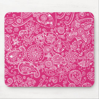 Hot Pink Mouse Pad