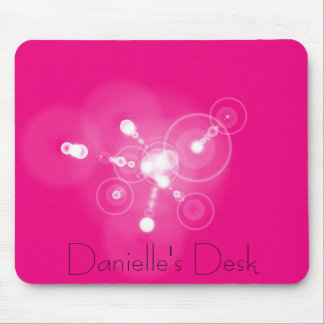 Hot Pink Mousepad (personalized)