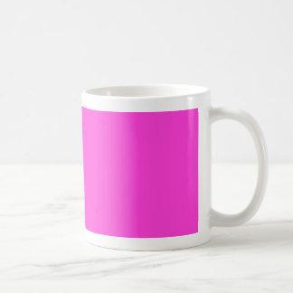 Hot Pink Coffee Mugs