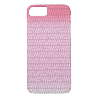 Hot Pink Ombre Wash Geometric iPhone 7 Case