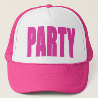 Hot Pink Party Hat
