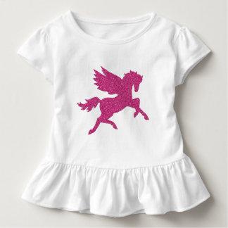 Hot Pink Pegasus Toddler T-Shirt