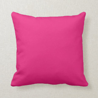 Hot pink plain beautiful luxury cushion pillow